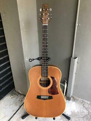 Aria LW12 6 String Dreadnought Acoustic Guitar - Made in Japan MIJ 1980s