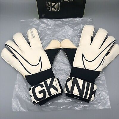 NEW Nike GK Vapor Grip 3 Goalkeeper Goalie Gloves Black White GS3884-100 Size 11