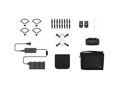 DJI SPARK FLY MORE COMBO, blanc, excellent état, comme neuf