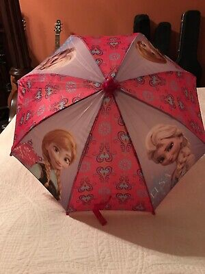 Disney Kid's Frozen Elsa and Anna Umbrella - I don't believe it was ever used