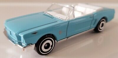 Hot Wheels '65 Ford Mustang Convertible Blue 2020 HW Screen Time 007 Thunderball