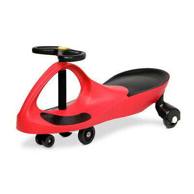 Kids Swing Car Ride On Toys Wiggle Swivel Scooter Slider Children Red Cars