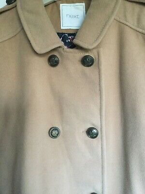 Girls Winter Coat From Next Age 16 Yrs Worn Twice