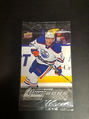 2015-16 UD YG Young Guns #201 Connor McDavid OVERSIZED Sealed RC Edmonton Oilers