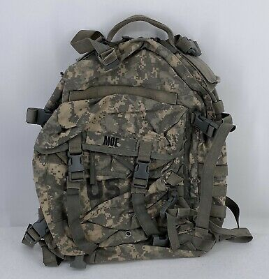 Us Military Army Acu Ucp Molle Ii Patrol Assault Pack 3-Day Mission Backpack Gc