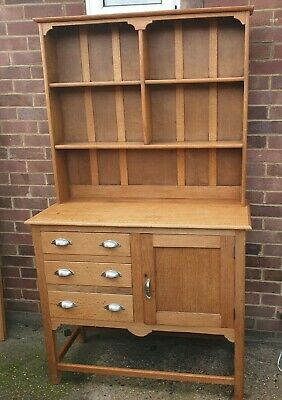 Arts Crafts Circa 1910-30 Light Oak Small Dresser