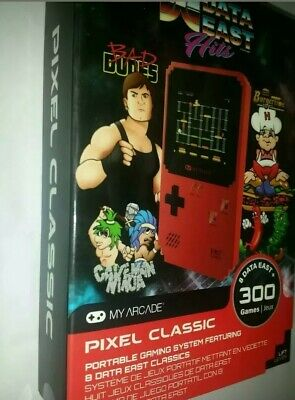 My Arcade Data East Hits Portable Handheld With 300 Built In Games Brand New