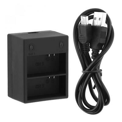 3.7V USB Dual Camera Battery Charger with Intelligent Fast Charging for