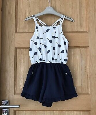 MARKS & SPENCER *6-7 YEARS GIRLS SUMMER play suit OUTFIT AGE 6-7 YEARS