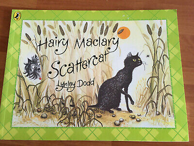 Hairy Maclary Scattercat by Lynley Dodd - paperback - VGC