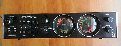Vintage Panasonic Receiver SA-505 Fully Tested. Working & SE-5050 Service Manual