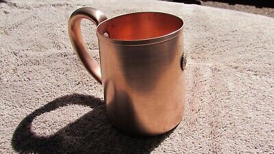 Vintage 1936 West Bend Solid Copper Cup With Ohio American Legion