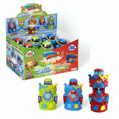 Superzings- Serie 5 Kazoom Machine con 2 SuperZings exclusivos  envio 24/48h