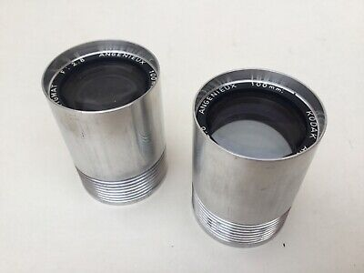 ANGENIEUX 100 mm  2.8  lot of 2 lens