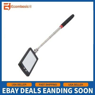 Ullman Devices Corp HTC-2LT Led Lighted Telescoping Inspection Mirror htc2lt