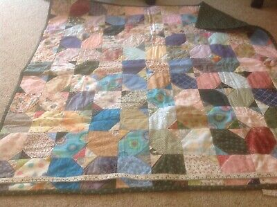 Cot Quilt Handmade. Approx 96 Cm Square