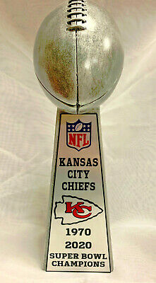 "2020 Kansas City Chiefs 15"" Super Bowl Championship Lombardi Style Trophy"