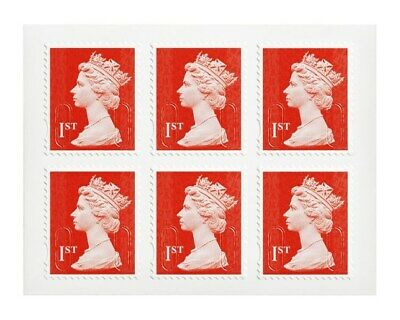 12 x 1ST Class STAMPS Royal Mail Post Office NEW