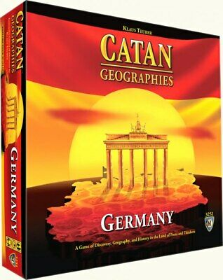 Catan Geographies Germany Board Game Mayfair 3251 Rare OOP (BRAND NEW, SEALED)