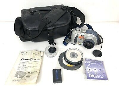 Genuine Sony (MVC-CD200) CD Mavica 2.1 Mega Pixels Digital Still Camera