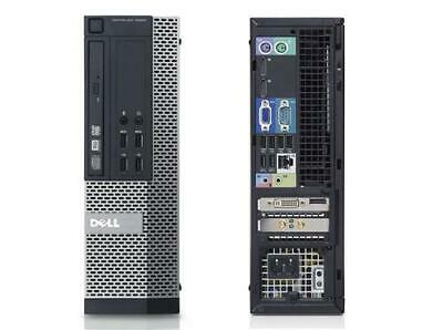 [C]Dell Optiplex 9020 SFF PC Desktop i5-4570 8GBRAM 256GBSSD  USB3.0 WiFi 2XDP