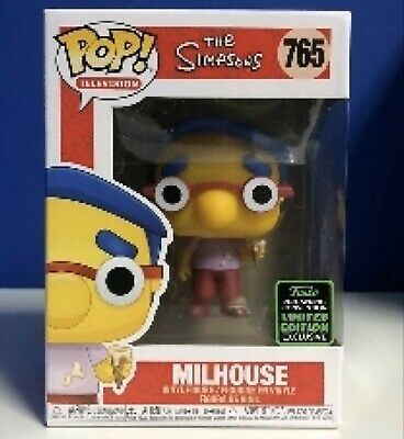Funko ECCC 2020 Simpsons Millhouse Exclusive Preorder