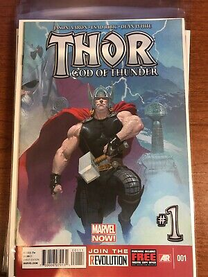 Thor God Of Thunder #1 1st Appearance Dario Agger Marvel Comics NM