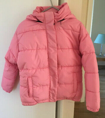 Bnwt- Next Girls Pink Hooded Padded Coat/Jacket - Age 11 Years