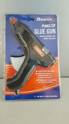 Bostik HG3 GLUE GUN Hot Melt with Glue Sticks