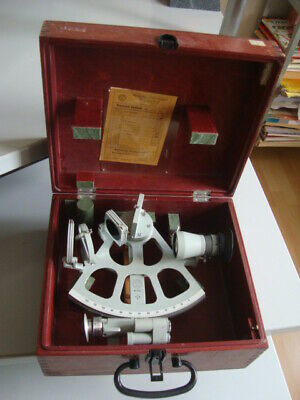 GERMANY NAVY MARINE TROMMEL-SEXTANT  made in 1987 GDR