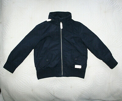 Debenhams Jasper J Conran Boys Dark Blue Waterproof Jacket Coat Sz 4 yrs