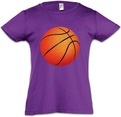 Basketball I Kids Girls T-Shirt Streetballcourt Streetball Player Center Court