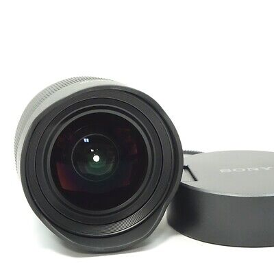 SONY FE 12-24mm F4 G Zoom Lens Accessory Complete Good Condition F/S (d95