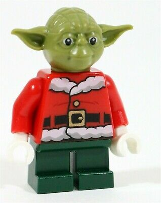 Lego Star Wars Christmas X-Wing Santa Master Yoda Minifigure 4002019 - Genuine