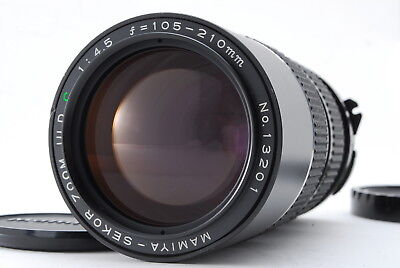 *NEAR MINT* MAMIYA SEKOR ZOOM ULD C 105-210mm F/4.5 MF Lens For 645 From JAPAN