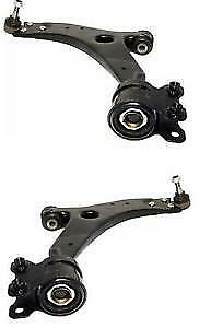 VOLVO S40 V50 MK2 04-13 FRONT 2 LOWER WISHBONE SUSPENSION ARMS 18MM BALL JOINT