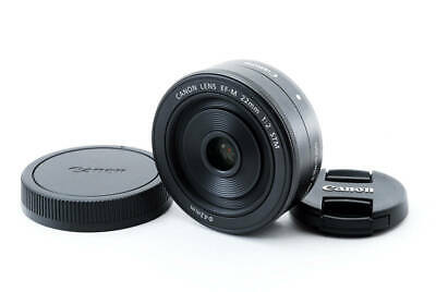 CANON EF-M 22mm F/2 STM Focal Wide-angle Lens Black For EOS M M2 M3 M6 M10