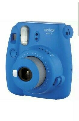 Fujifilm Instax Mini 9 Instant Camera - Cobalt Blue Brand New Sealed Box