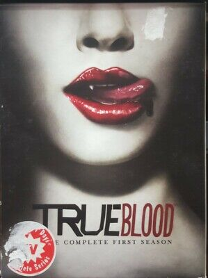 True Blood - The Complete First Season 1 (DVD; 5-Disc Box Set) HBO Series Bluray