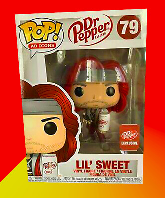 Funko POP! Ad Icons Dr. Pepper Lil' Sweet Exclusive Preorder rare Grail