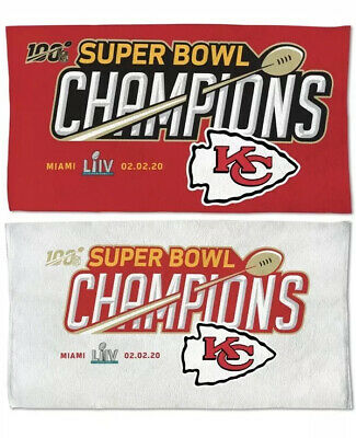 2 Super Bowl Liv 54 Champions Kansas City Chiefs Championship Stickers