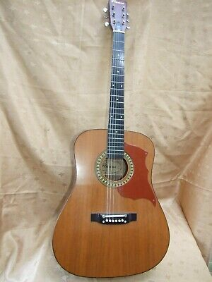 Vintage Riviera 6 String Acoustic Guitar Model No;1218 - Soft Case Korea Made