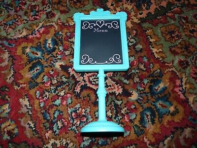American Girl Doll Grace's Bistro Menu Stand Replacement Part EXC!