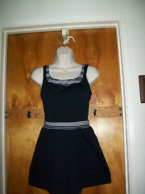LARGE One Piece Swimsuit with Skirt attached for sale (NWOT) by Land's End.