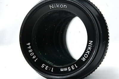 Nikon Non-Ai 135mm F3.5 Lens SN160844 **Excellent++**