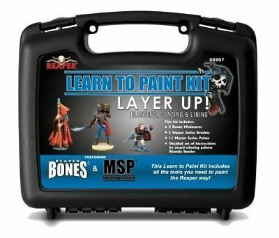 Reaper Miniatures Learn To Paint Kit - Layer Up !