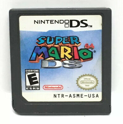 Super Mario 64 DS (Nintendo DS, 2004) Game Only TESTED 3DS 2DS XL DSi Lite