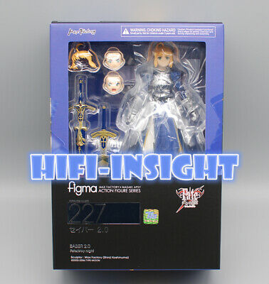 Fate Stay Night Figma Saber Bride Painted PVC Action Figure Anime Model Toy 16cm