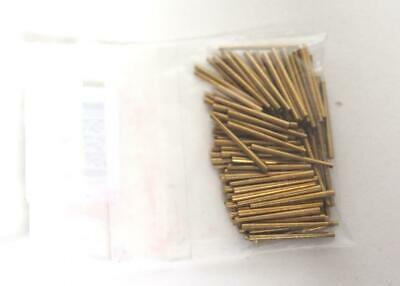 Clock Brass Pins No 6 1.00mm to 1.30mm Tampering Clock Pins Brass Clock Pins