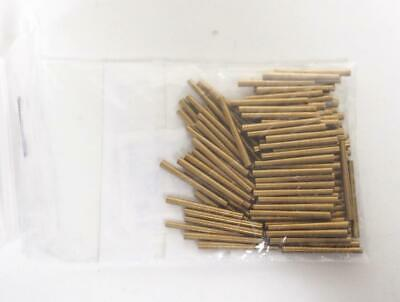 Clock Brass Pins No 9 1.15mm to 1.50mm Tampering Clock Pins Brass Clock Pins